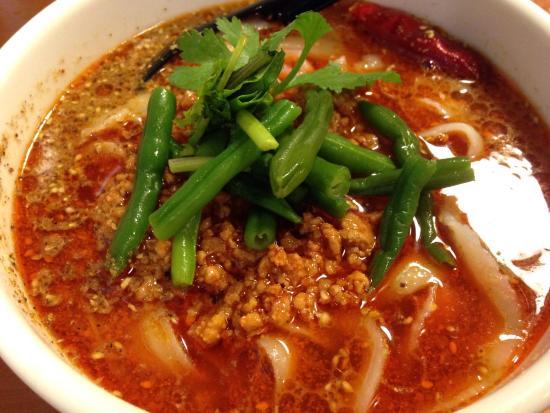 Ryukotoshomenpo: 麻辣麺