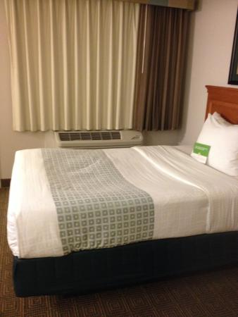 La Quinta Inn Tallahassee North: The sink hole bed