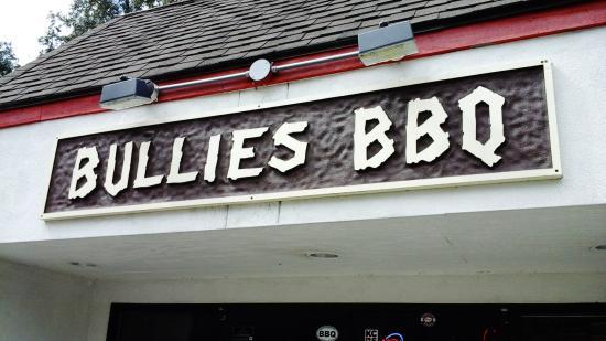 Bullies: Outside sign