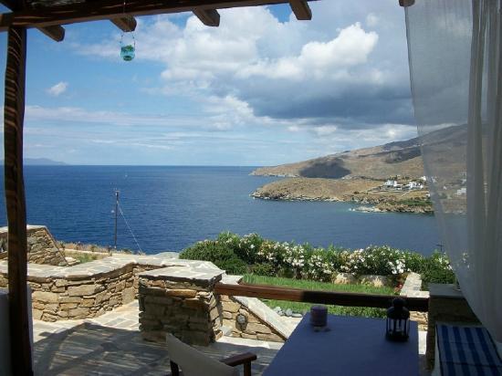 Agios Romanos, Греция: sea view