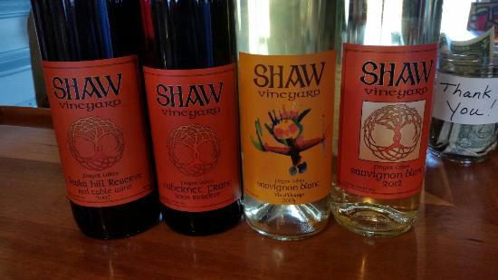 Shaw Vineyard