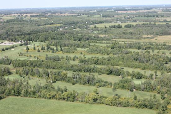 Orangeville, Canada: Aerial Photo of Course