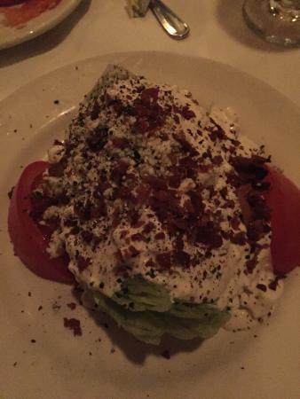 Bob's Steak & Chop House : Wedge Salad