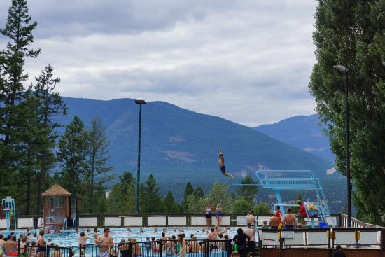 Main Hot Spring Pool Picture Of Fairmont Hot Springs Resort Fairmont Hot Springs Tripadvisor