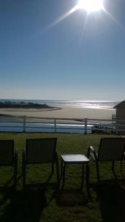 Terrace by the Sea: View from the lawn! Just Gorgeous!