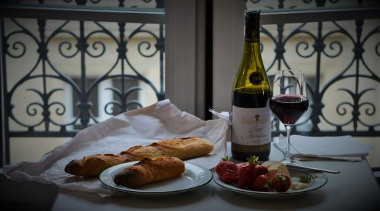 Hotel Bonaparte: When tired, think about picking up some delicious treats of Paris to have in your room.