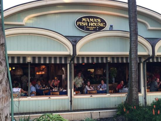 Paia, HI: The view from Mama's is not to be missed
