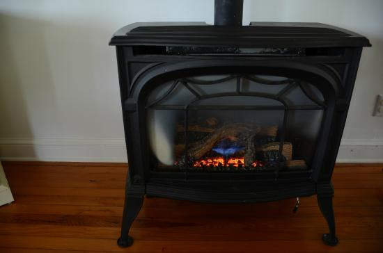 Fairhill Farm: Fire Place in the living room
