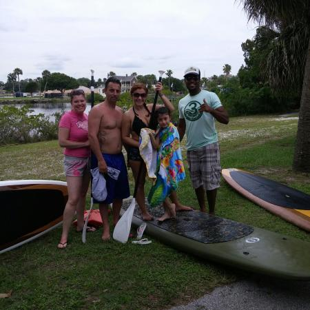Three Brothers Boards Dolphin and Manatee Paddle Board Tours: So much fun with a great workout