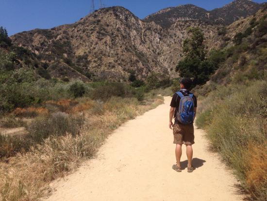 Eaton Canyon Natural Area: Wide trails