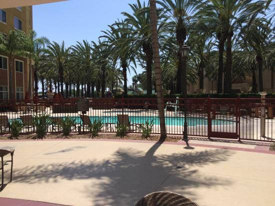 Pool picture of residence inn anaheim resort area garden for Garden grove pool