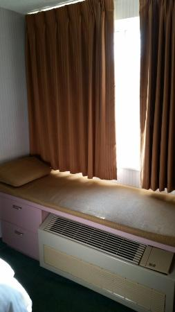 CenterWay Hotel: Window seat.