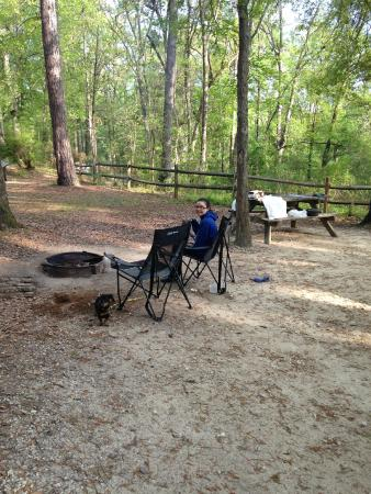 Colleton State Park : Fire pit/ picnic table