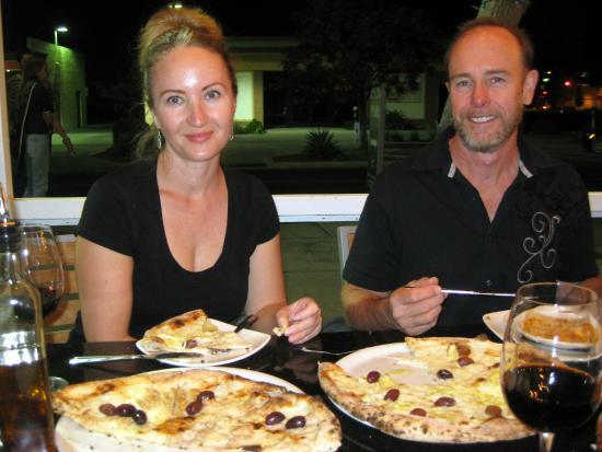 Pomo Pizzeria Phoenix: Vegetarian pizza
