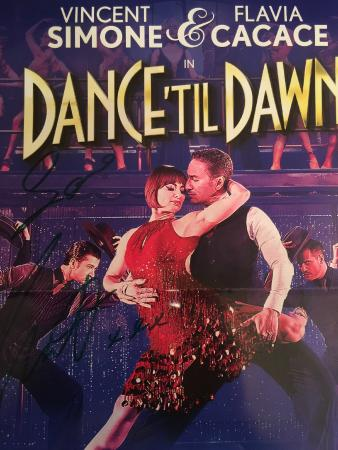 """Ilfracombe House Hotel: """"Dance til Dawn"""" signed Poster"""