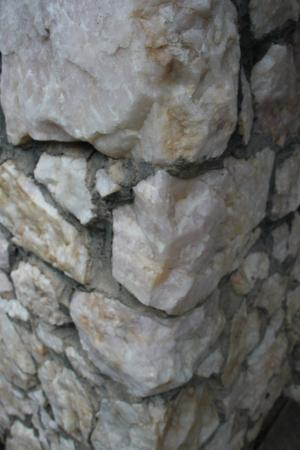 Brook Forest Inn and Spa: Real rock