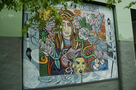 Alberta Street: street murals