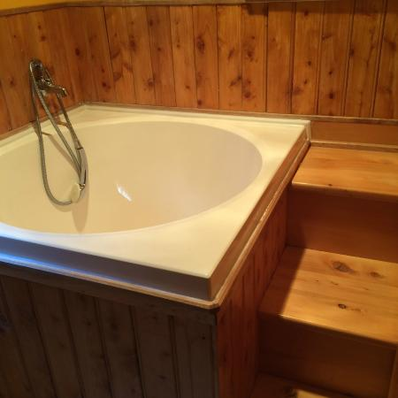 Nahcotta, WA: Japanese soaking tub in room #2