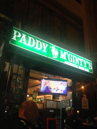 Paddy McGinty's: Great place good welcome nice atmosphere clientele were very approachable and chatty defo a plac