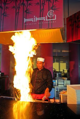Olympic Lagoon Resort Paphos: Kiku Japanese Restaurant