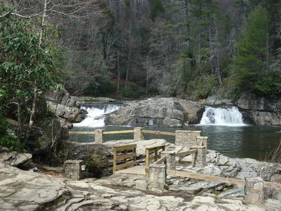 North Carolina Mountains, NC: Part of Linville Falls trail