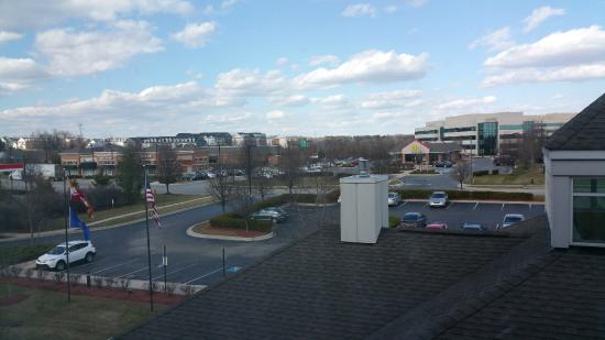 View from my Room at Hilton Garden Inn Columbia MD Picture of