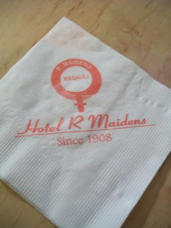 Hotel R. Maidens, Kasauli - Restaurant : restro