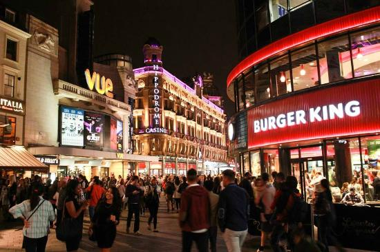 Fast Food Places In London England