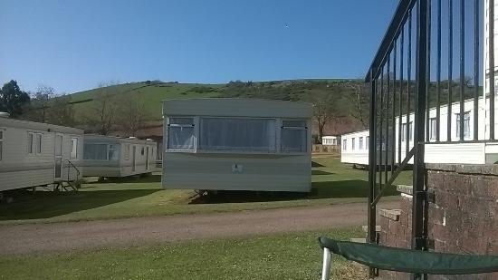 Whitehill Country Park: View from our caravan