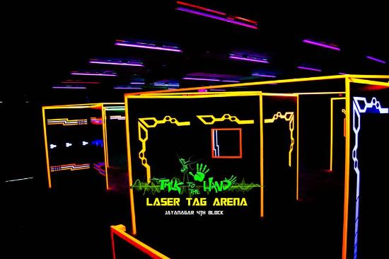 Talk To The Hand - Laser Tag Arena- Koramangala