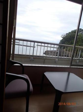 Izu Matsuzakiso: 部屋からの眺め