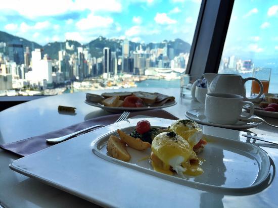 Harbour Grand Hong Kong: Śniadanie w le188