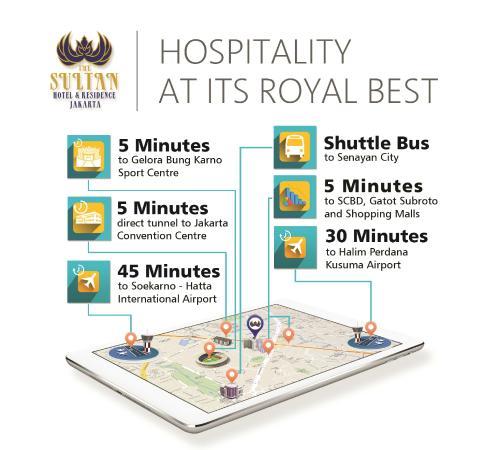 The Sultan Hotel & Residence Jakarta: Information