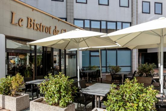 Kyriad Prestige Clermont Ferrand : Terrasse