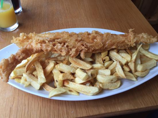 Robertsons Fish Restaurant: Large means large at Robertsons!
