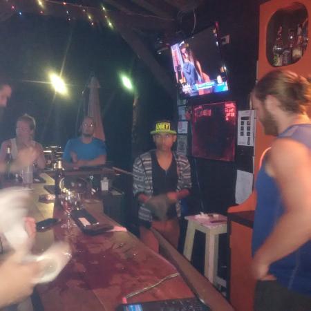 Hacienda Backpackers: The Bar