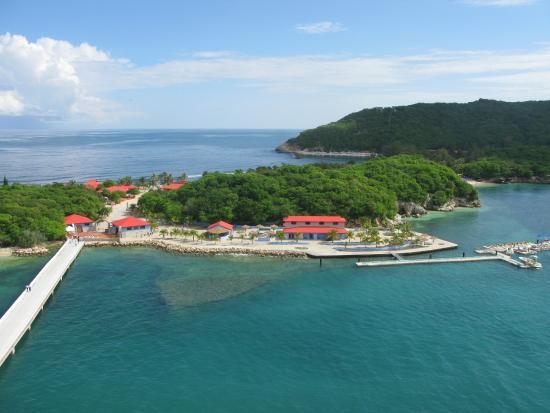 entrance to labadee haiti picture of labadee haiti