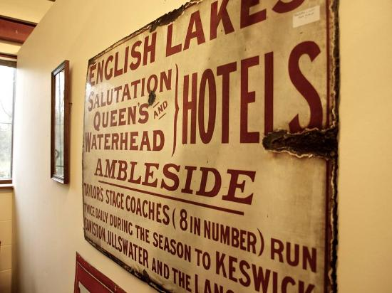 Kendal, UK: Lae District advertising sign