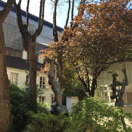 Zadkine Museum: Charming Zadkine studio & garden