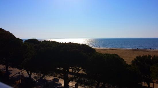 Hotel Europa: Der Morgen der Abreise - nun schönes Wetter ;-)
