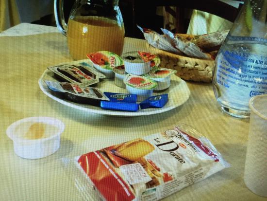 IL Piancardato Country House: colazione...