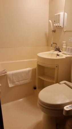 Hotel Oaks Shin-Osaka: bathroom