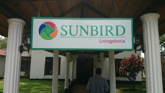 Sunbird Livingstonia Beach Hotel Entrance