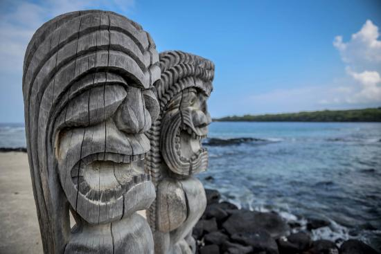 Pu'uhonua O Honaunau National Historical Park: No bad spirits allowed
