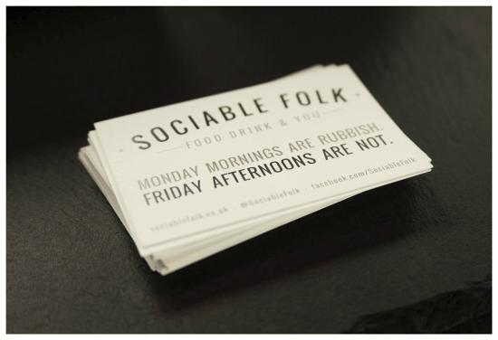 Sociable folk business cards picture of sociable folk leeds sociable folk business cards reheart Image collections