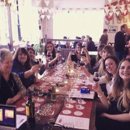 Cheshire Mersey Wine School - Day Classes: Hen Do Wine Tasting