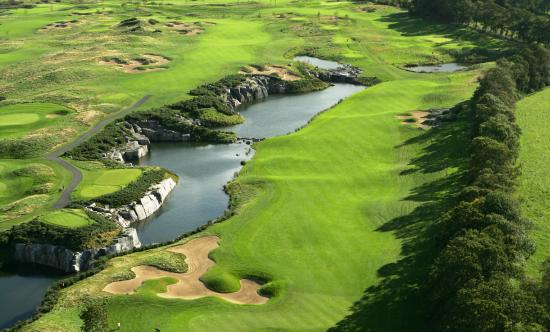 The K Club: The 7th Hole of The Smurfit Course
