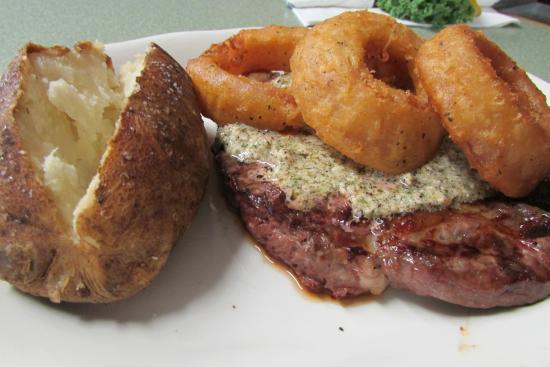 Baker's Restaurant: Walla Walla Black Angus Rib Eye