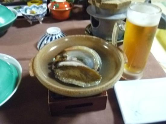 Yumotokan New Hamajima: アワビ~