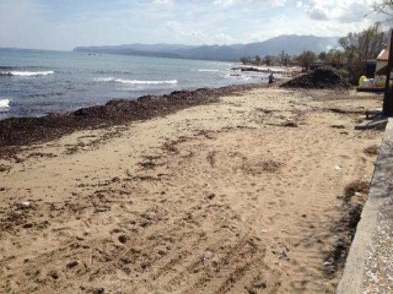 SENTIDO Blue Sea Beach  Not ready beach. Not ready beach   Picture of SENTIDO Blue Sea Beach  Stalis